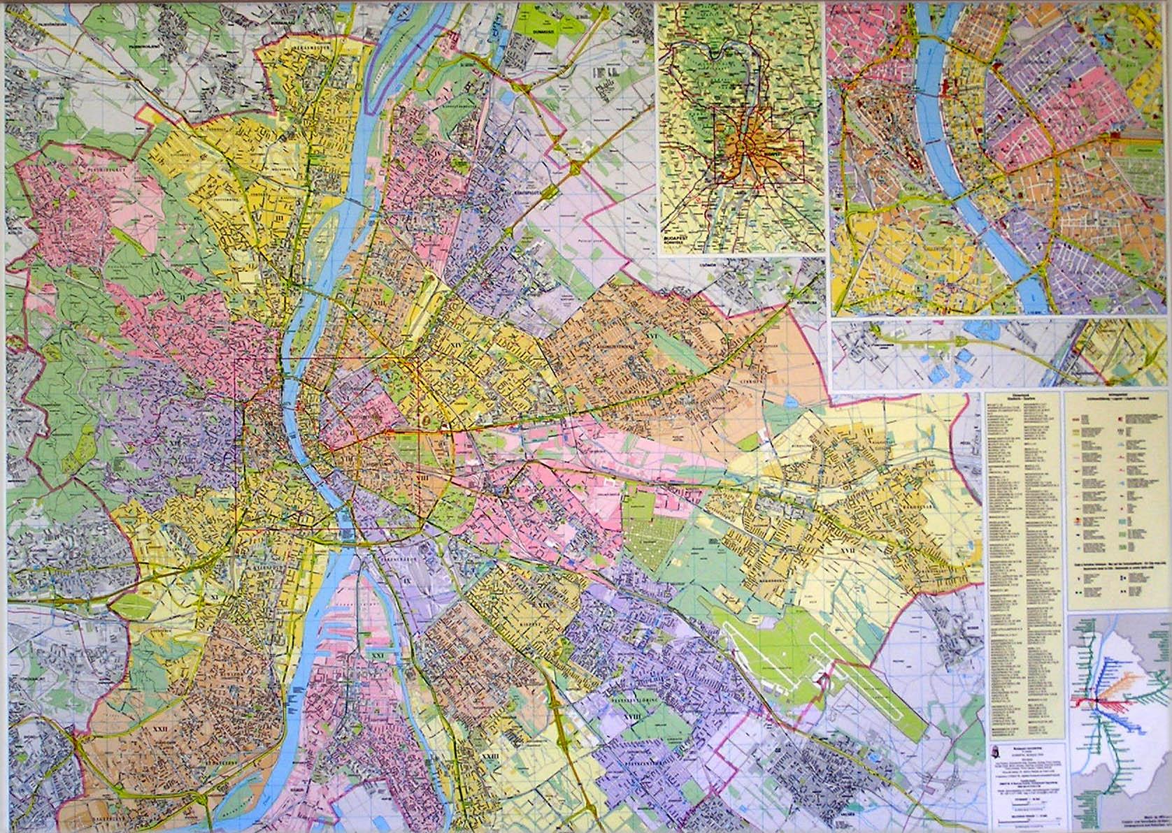 budapest térkép 1960 Hibernia Nova Kft. budapest térkép 1960